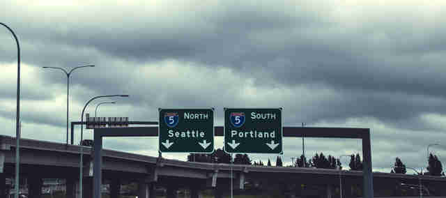 seattle portland signs