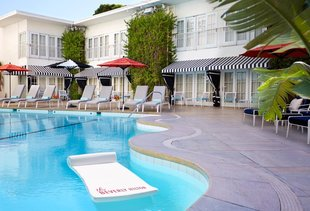 Aqua Star Pool at the Beverly Hilton