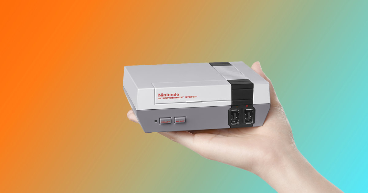 Nintendo's Bringing Back the NES With 30 Built-In Games