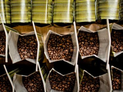 flying goat coffee beans