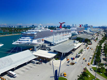 cruise ship port of miami