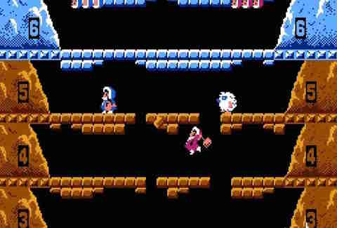 Ice Climber on Nintendo Classic