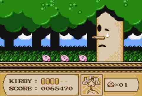 Kirby's Adventure on Nintendo Classic