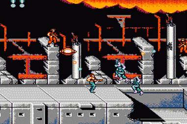 Super C on NES Classic