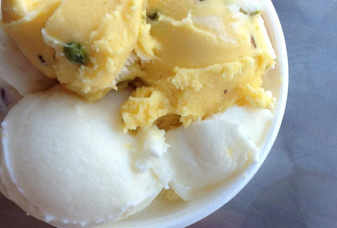 Artisanal ice cream at Saffron & Rose in LA Thrillist