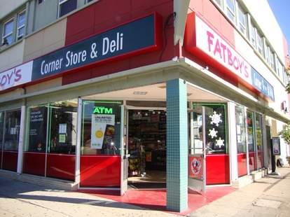 fat boy's corner store & deli exterior