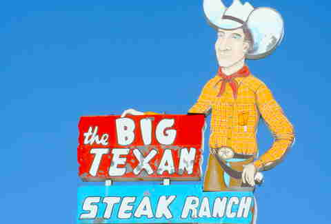 The Big Texas Steak Ranch