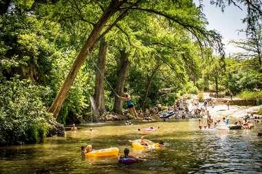Krause Springs Texas