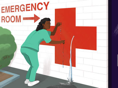 The importance of nurses illustration
