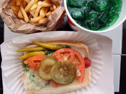 Byron's Hot Dogs Chicago