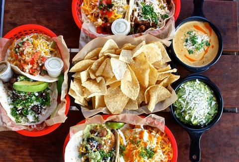 torchy's tacos chips, dips and tacos