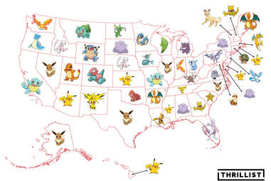 Rarest Pokemon in Every State
