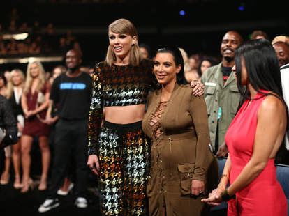 Taylor Swift Kim Kardashian Snapchat