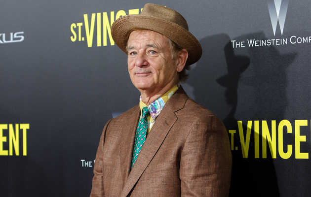 Our Weekend Plans: A Bill Murray Art Exhibition and Golf Party
