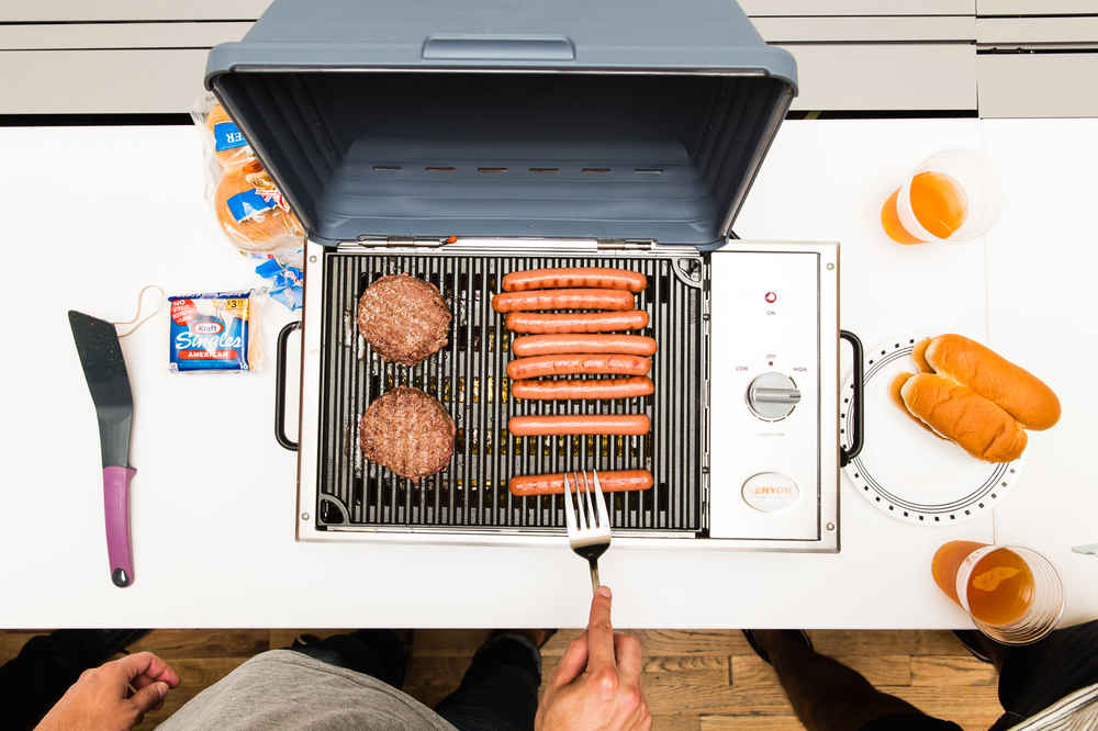 Kenyon SilKEN Grill Is Portable & Smokeless - Best Indoor Grill ...