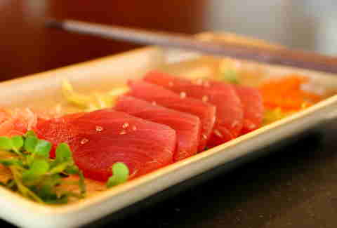 Fresh Ahi Off the Boat