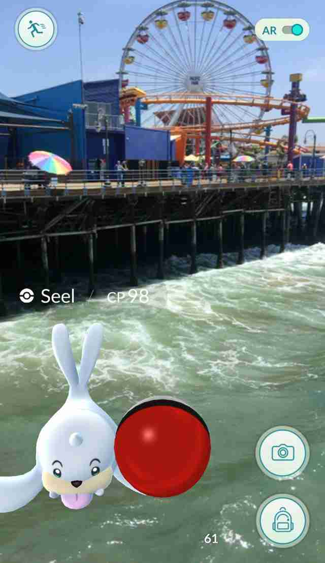 Pokemon Go Santa Monica Pier