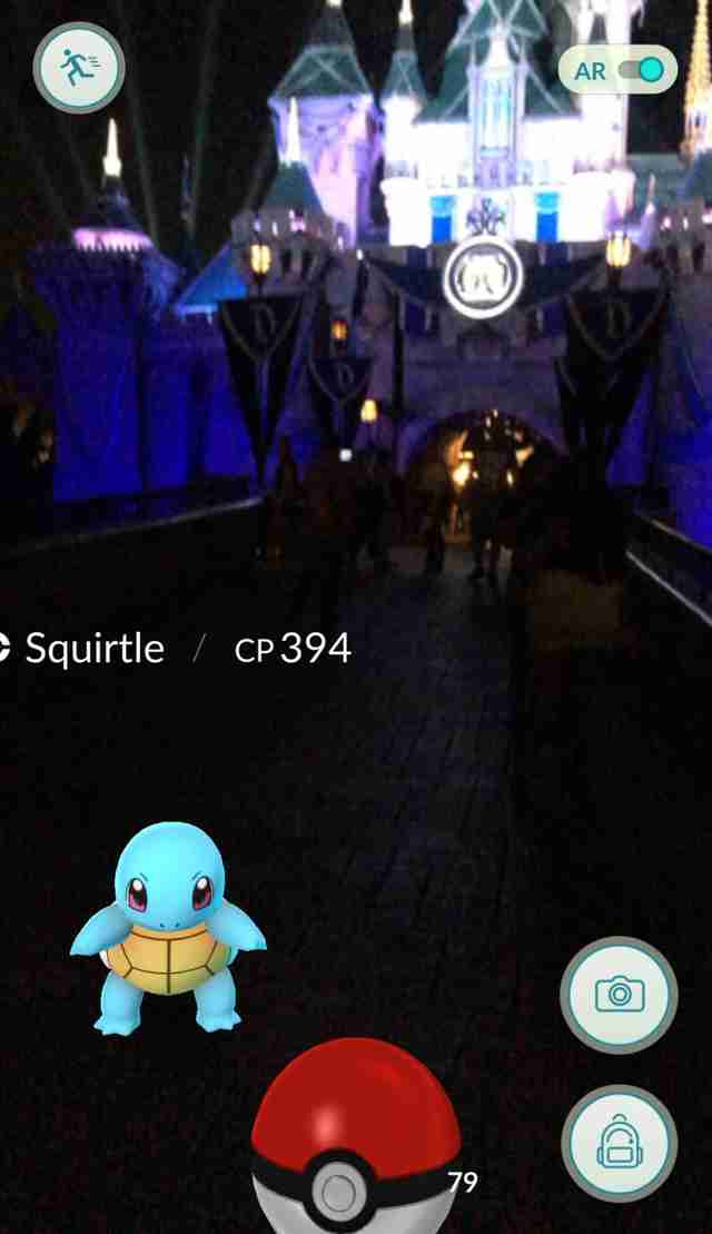 Pokemon Go Disneyland