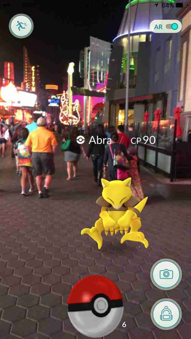 Pokemon Go Universal Studios and City Walk