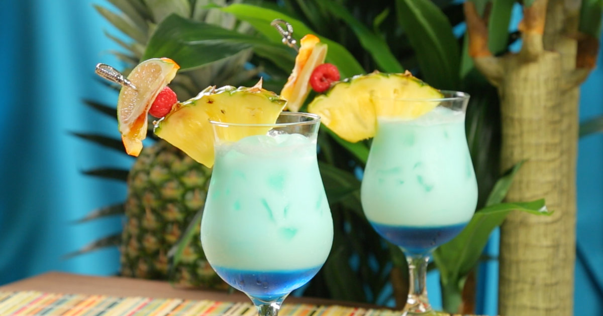 Swimming Pool Cocktail Recipe Video Thrillist