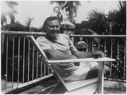 Ernest Hemingway Advice on Drinking