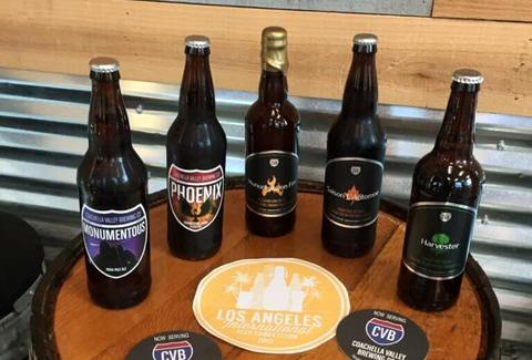 coachella valley brewing co. bottle selection