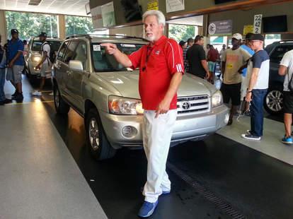 A regular auto auction