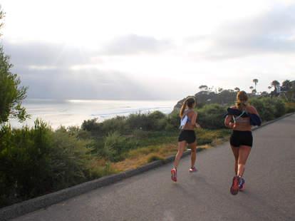 running in San Diego