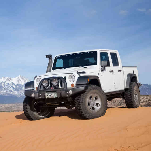 Holy Crap: Jeep\'s Really Making a Wrangler Pickup