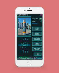 screenshot of ingress app on iphone