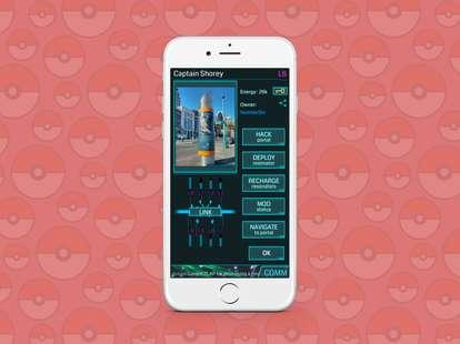 screenshot of ingress app on iphone