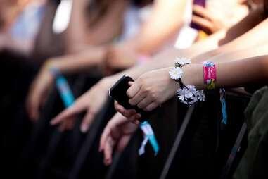 Osheaga bracelets