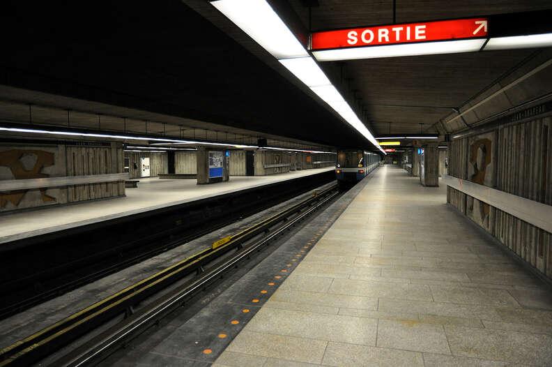Station Jean-Drapeau Montreal