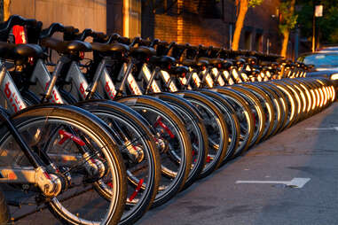 Bikes in Montreal