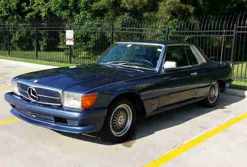 1981 Mercedes SLC For Sale