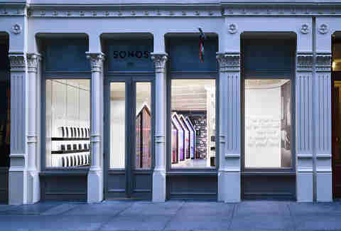 The New Sonos Store in Soho is a Shrine to Music Technology