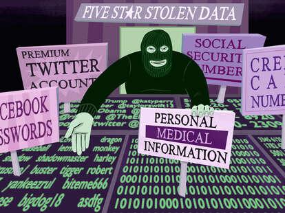 the black market for stolen data