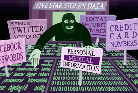 the black market for stolen data