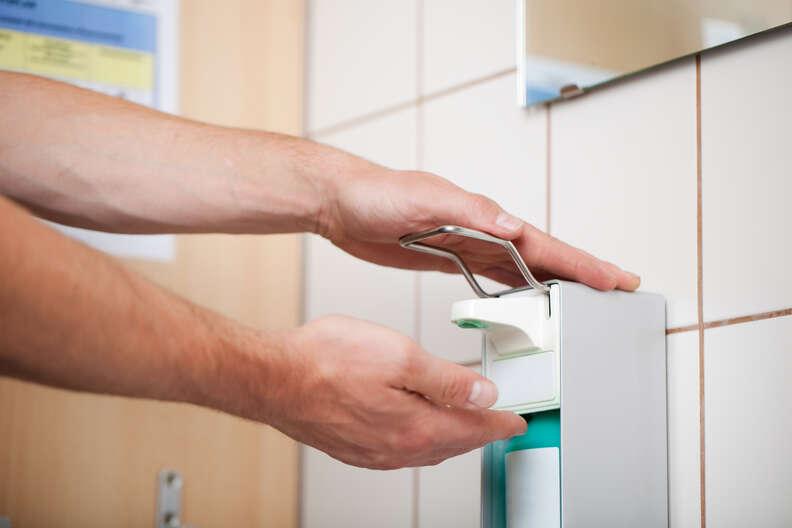 hand sanitizer doctor