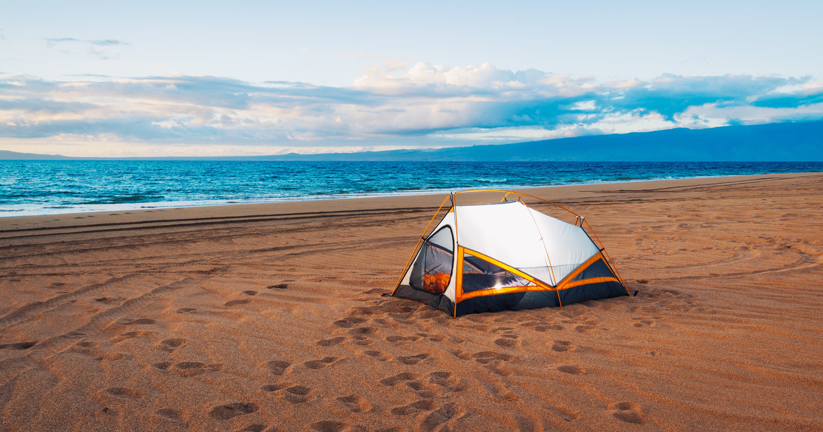 видео секс в палатке на море
