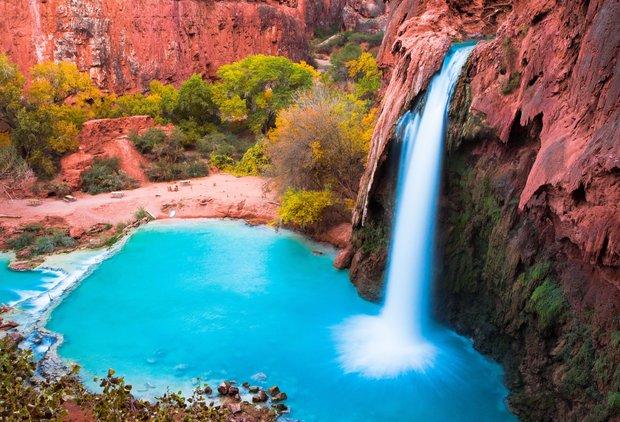 America\'s 15 Most Beautiful Waterfalls You Can Actually Swim In