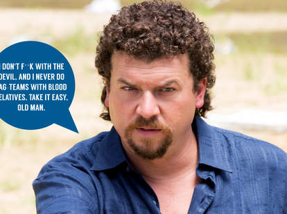 danny mcbride as kenny powers on eastbound and down