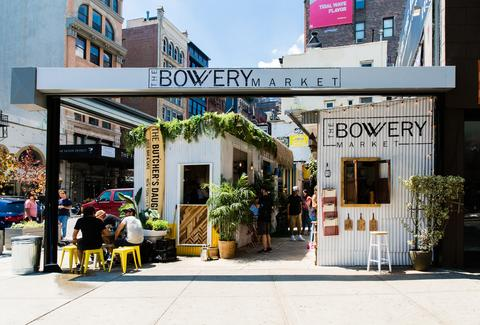 bowery market new york