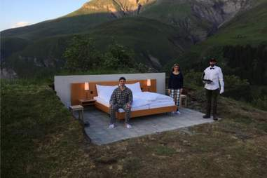open air hotel