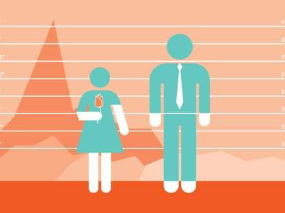 bachelor height data