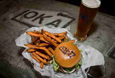 The Lokal Burger