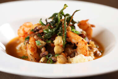 Southern Art shrimp and grits
