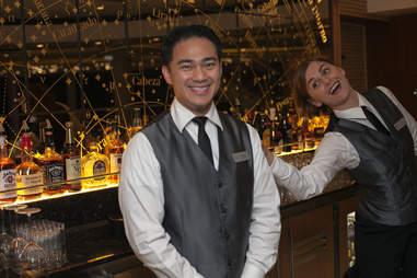 Cruise bartender