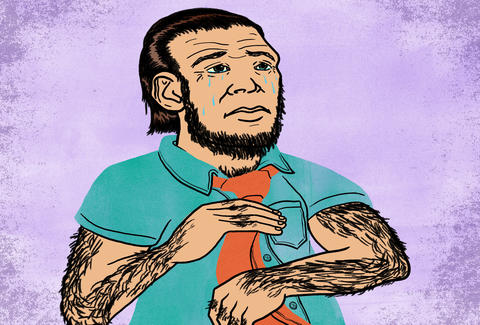 Humans might be part neanderthal