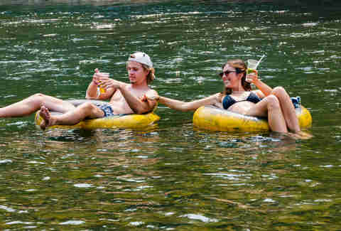 The Best Rivers in the Mid-Atlantic for Tubing + Drinking